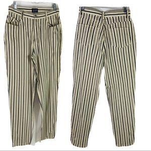 Vintage Gap High Waist Stripe Light weight Jeans